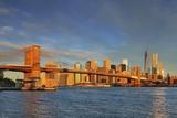 Brooklyn Bridge, Manhattan, New York City, United States, USA Photographic Print by Riccardo Spila/SOPA RF
