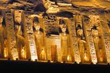 Temple of Hathor Dedicated to Nefertari (Ramses Queen) Photographic Print by Aldo Pavan