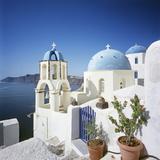Oia, Santorini Island, Thera Photographic Print