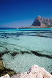 Coast of San Vito Lo Capo Photographic Print by Massimo Ripani