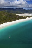 Whithaven Beach Overview from the Helicopter, Whitsunday Island Photographic Print by Maurizio Rellini