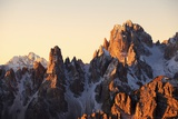 Cadini Di Misurina at Dawn, Cadore Photographic Print by Maurizio Rellini