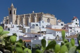 Th Cathedral on Top of the Village, Ciutadella Photographic Print by Massimo Ripani