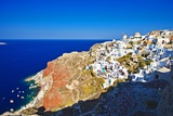 Oia, Santorini Island, Thera Photographic Print by Stefano Brozzi