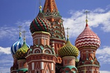 Red Square, St Basil's Cathedral, Moscow, Russia Photographic Print by SOPA RF