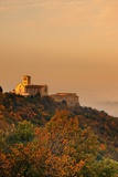Basilica above the Fog, Assisi Photographic Print by Maurizio Rellini