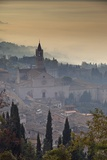 Town above the Fog, Assisi Photographic Print by Maurizio Rellini