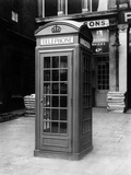 Phone Box Photographic Print by  King