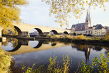 Regensburg, from the Other Side Photographic Print by Ana Guisado Photography