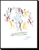 La danza de la juventud Framed Print Mount por Pablo Picasso