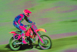 Motocross Rider Photographic Print by Harold Wilion