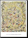 Shimmering Substance, c.1946 Framed Print Mount av Jackson Pollock