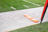 First down Marker on American Football Field Photographic Print by William Andrew