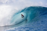 Billabong pro Tahiti Photographic Print by Kirstin Scholtz