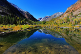 Lundy Canyon Reflections Photographic Print by David Toussaint