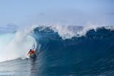 Billabong pro Teahupoo Surfing Photographic Print by Kirstin Scholtz