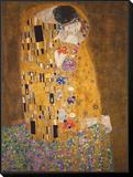 The Kiss (Le Baiser), c.1907 Framed Print Mount por Gustav Klimt