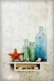 Starfish, Seashells and Bottles Photographic Print by James A. Guilliam