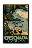 Ensenada Mexico Decal Giclee Print by Jennifer Kennard