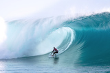 Billabong pro Teahupoo Surfing Photographic Print by Will Hayden-Smith/ASP