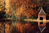 Loch Dunmore in Autumn Photographic Print by Brian Lawrence