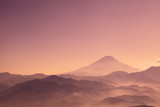 Mount Fuji and Clouds Photographic Print by  SHOSEI/Aflo