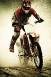 Dirt Bike Rider Fotografie-Druck von Thorpeland Photography
