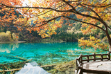 Five Flower Lake in Jiuzhaigou National Park, Sichuan Province, China Photographic Print by Cultura Travel/Philip Lee Harvey