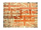 Union Jack Flag Abstract Plakater af  prawny