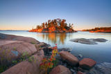 Georgian Bay Sunrise Photographic Print by  Henry@scenicfoto.com