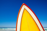 Retro Surf Board at Beach, Australia Photographic Print by John White Photos