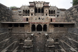 The Giant Step Well of Abhaneri in Rajasthan State in India Prints by  OSTILL