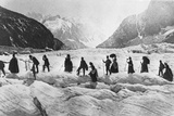 Glacier Walkers Photographic Print by William England
