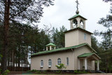 Russian Church of Rovaniemi, Lapland. Photographic Print by Claudine Van Massenhove