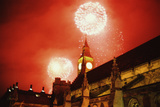 Millenium Fireworks Photographic Print by Steve Eason