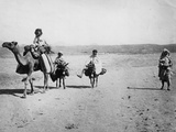 Desert Transport Photographic Print by Hulton Archive