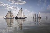 Netherlands, Race of Traditional Sailing Ships Photographic Print by Frans Lemmens