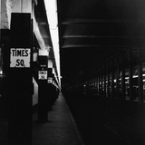 NYC Subway Platform Photographic Print by R. Gates
