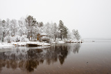 Snowy Day at Lake Inari Photographic Print by Wu Swee Ong