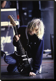 Kurt Cobain Framed Print Mount