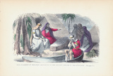 Ancient Egyptian Burial Ceremony Photographic Print by Kean Collection