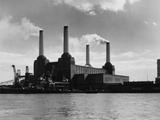 Battersea Power Fotografie-Druck von  Woolnough