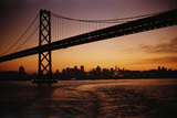 Oakland Bay Bridge Photographic Print by Harvey Meston