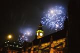 Millenium Fireworks Photographic Print by Steve Eason