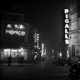 Paris at Night Photographic Print by Michael Ochs Archives