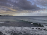 Surfing Early Morning , Queensland , Australia Photographic Print by Southern Stock