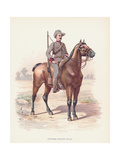Victorian Mounted Rifles Soldier Photographic Print by Kean Collection