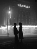 Cinema Silhouette Photographic Print by Bert Hardy