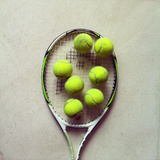 Tennis Fotografisk trykk av Shilpa Harolikar