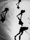 Speed Skaters Papier Photo par  Keystone